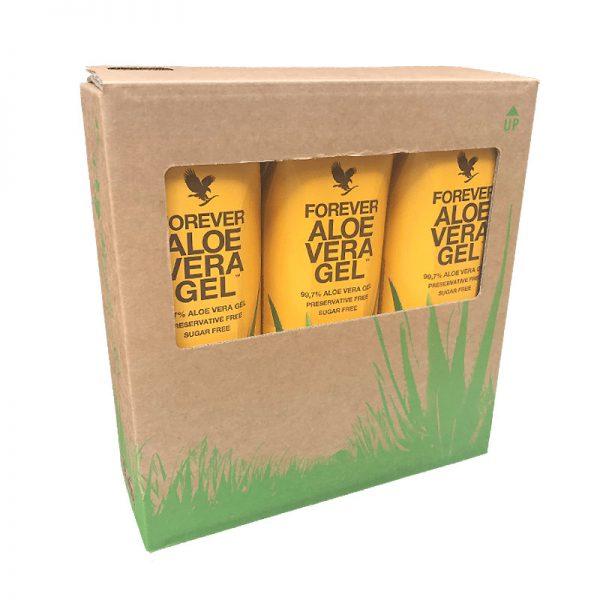 Forever Aloe Gel Tri Pack