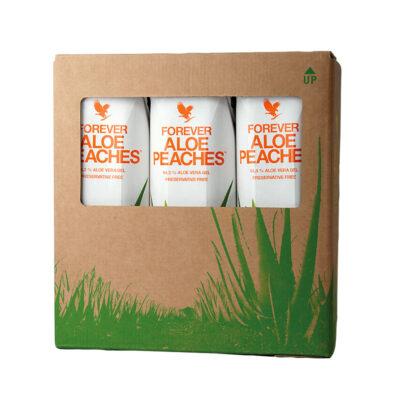 Forever Aloe Peaches TriPack Bulk